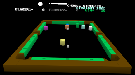 Pool billiard 3D